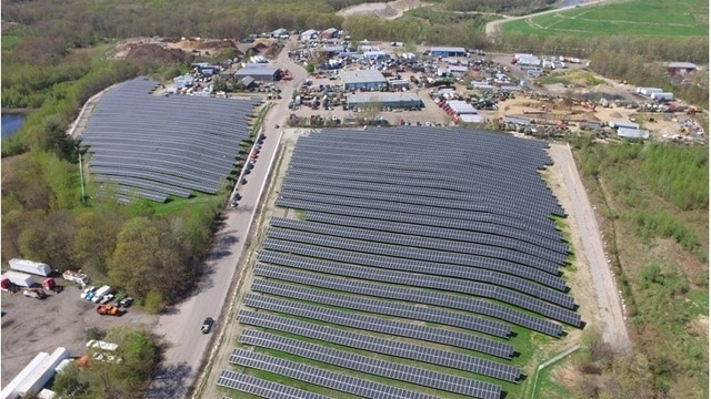 Captona continues to grow its Infrastructure Portfolio and adds two more solar assets situated on Landfills in Rhode Island